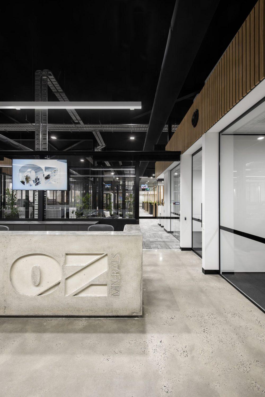 Oz Mineral Head Office Interior
